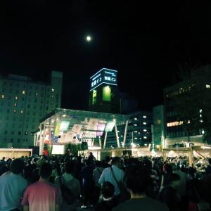 まさしく祝祭の広場となりました。