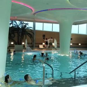 サーメ・バース・スパで温泉を楽しむ