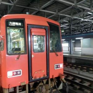 福井から九頭竜線に乗って一乗谷まで、