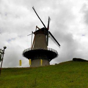 モネさんのオランダ風車