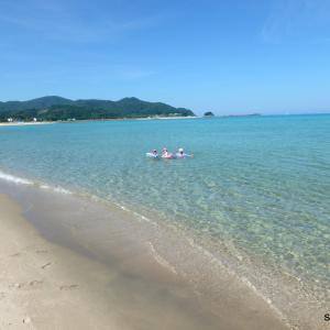 京丹後の海を満喫☆