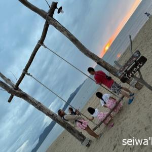 京丹後の浜詰海水浴場☆
