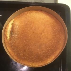 チーズケーキも焼きました