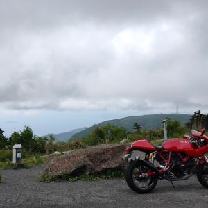梅雨前のお山へ