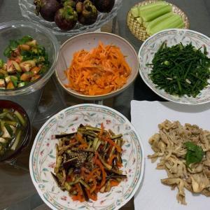 ベジタリアン料理いろいろ作りました
