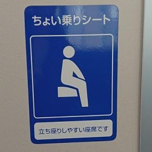 もっと安全に。もっと快適に。 ~ ちょい乗りシート ~