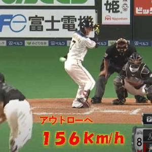 澤村、156キロまっすぐ勝負!