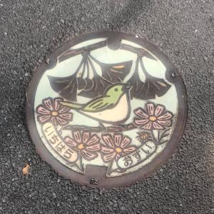 小さな旅のコレクション マンホールのふた絵柄チェック 市原市