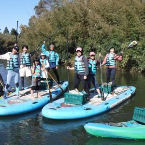 【いラ研環境活動】11月16日(土)毎月恒例の夷隅川SUPリバークリーン開催