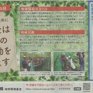 「国際生物多様性の日」地球環境基金の新聞広報に当NPOの活動写をご紹介いただきました。