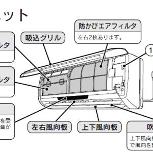 エアコン付属の空気清浄フィルタは実質役立たずなので不要