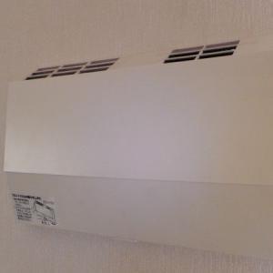 熱交換型換気扇にホコリ取りフィルターを追加