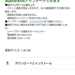 Rakuten Mobile Android 10対応 OSアップーデートとイースターエッグ