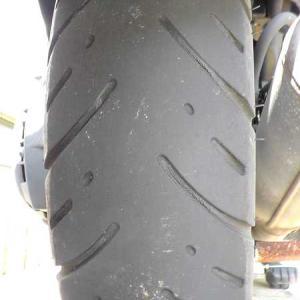 原付バイクのタイヤ交換