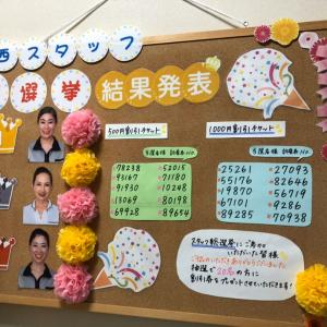 スタッフ総選挙〜嬉しいお言葉ありがとうございます〜