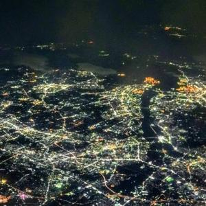 夜空を照らす街のJewelry(*^▽^*)♪
