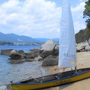 薫風に吹かれてSailing Canoe!(=゚ω゚)ノ⛵