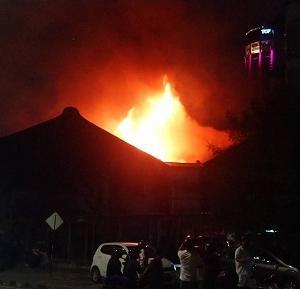 2020年2月12日にジョージタウンであった火事