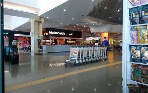 2020年2月中旬のペナン国際空港の様子