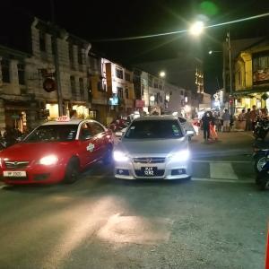 チュリアストリート夜の様子