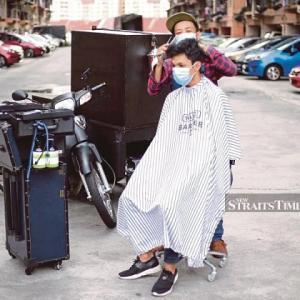 マレーシアの出張ヘアカットサービス!?
