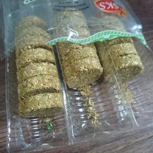 お土産にいただいたマレーシアのお菓子