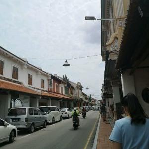 マラッカ市街の様子とババニョニャヘリテージ博物館