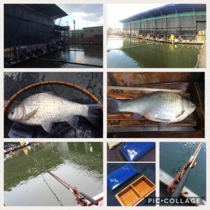 西池 ウドンの床釣り大会