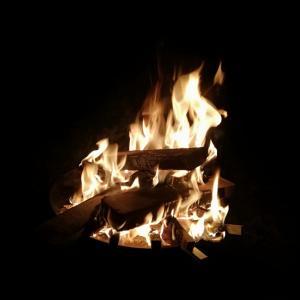 他力で焚き火☆初インスタLIVE配信♥