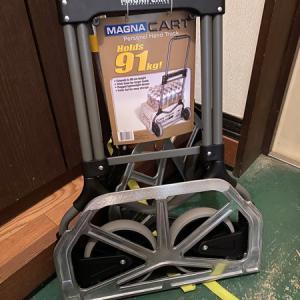 アジング用にクーラー、バッカン、移動にMAGNA CART(マグナカート) MC2