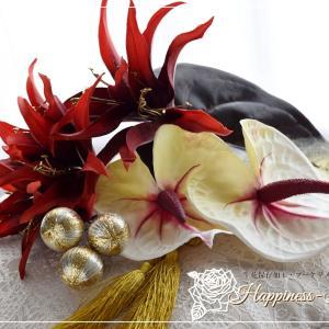 和装の髪飾り