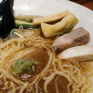 個食のグルマン-1@羽田空港・のっけご飯と中華そば95 で 冷しラーメン