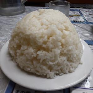 鶴見・レストランばーく で ハムカツ定食