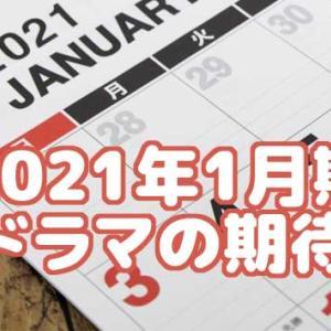 2021年1月期 / 冬ドラマの期待度