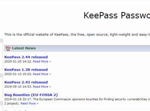 Windows版KeePassのダウンロードからインストールまでの手順