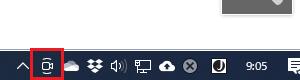 Windows10の通知領域に出てきた新しいアイコンを表示させない方法