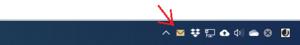 Outlookのメール着信がタスクバー上で通知されなくなったら