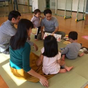 晴れて気持ちいい秋日和!栄町児童館、パパと児童館であそぼう(2019年10月)
