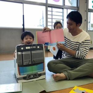 雨なら児童館へGO!栄町児童館、パパと児童館であそぼう(2019年6月)