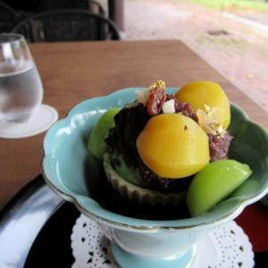 軽井沢プリンスホテル ウエスト * リニューアルした「日本料理からまつ」のティータイム♪