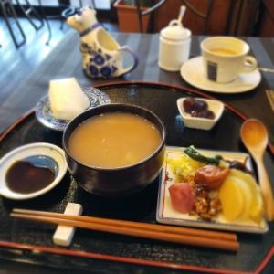 軽井沢CAfe 来美(KURUMI) * お茶粥モーニング♪