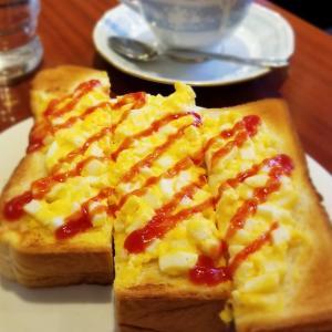 カフェ三番館・なんば店 * OCATに早朝到着した時の大阪モーニング♪