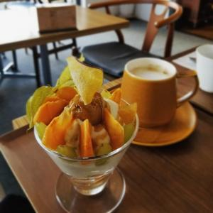 パニーニ&スープ ホリウチカフェ * Tea Timeに再訪♪