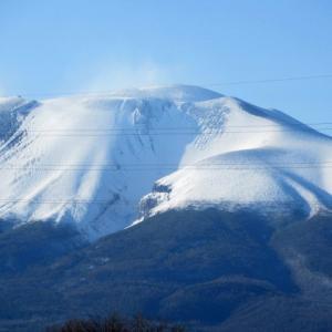 浅間山の冠雪 * 帰ってきたシルバーバック♪