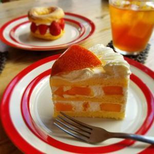 La theiere ラ・テイエ * 完熟宮崎マンゴーのショートケーキ♪