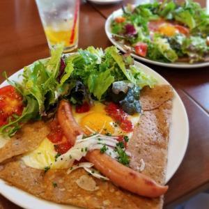 ガレット&クレープ -Cachette- カシェット * お野菜たーっぷりのガレットランチ♪