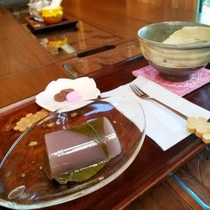 茶房ひとひら * とっておきの隠れ家カフェの季節の和菓子♪