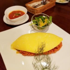 Dining Restaurant THOMAS-トーマス- * 半熟玉子がとろりと広がるオムライス♪