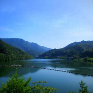 奥河内 * 真夏の滝畑ダム