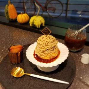 大阪・ちひろ菓子店 * 焼きたてフィナンシェと和栗モンブランプリン♪